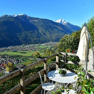 Außen Sommer 3, Rustico Vigna, Valtellina, Lombardei, Lombardei, Italien