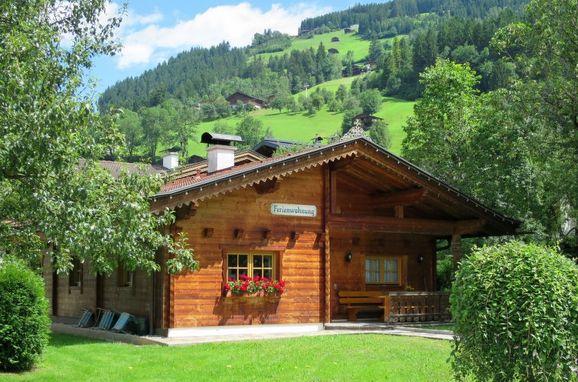 Außen Sommer 1 - Hauptbild, Blockhütte Heisenhaus, Mayrhofen, Zillertal, Tirol, Österreich