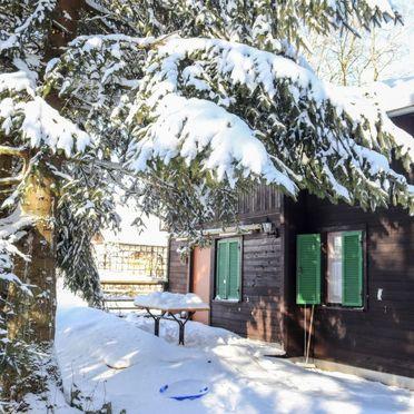 Außen Winter 34, Berghütte Menardi, Frankenburg am Hausruck, Oberösterreich, Oberösterreich, Österreich