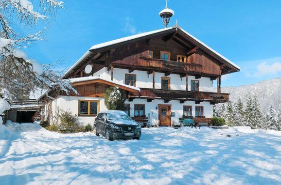 Außen Winter 44 - Hauptbild, Bauernhaus Schwalbenhof, Wildschönau, Tirol, Tirol, Österreich